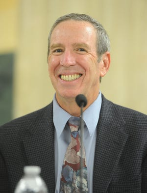 Andy Sobel, the fourth-place vote-getter in November's election, was appointed to fill the empty seat on the Santa Paula City Council.