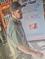 Deputies in Fillmore are asking for the public's help identifying a man wanted in connection with a vehicle burglary in September.