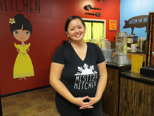 """""""I wanted to bring that Filipino foodie vibe here to Ventura County,"""" says Leia Afable, who launched Mestiza Kitchen as a catering company in Nashville. The Hueneme High School graduate teamed with family members to open the Ventura restaurant, which will debut on Oct. 6."""
