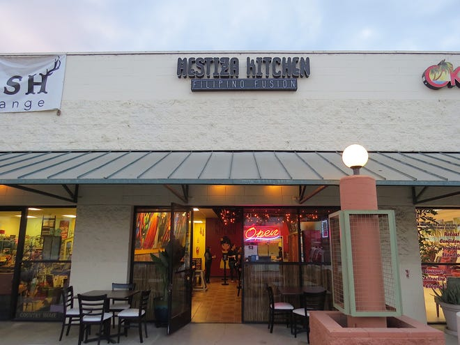 Mestiza Kitchen will open Oct. 6 at the Gateway Village shopping center in Ventura. The Filipino-fusion restaurant offers lumpia, chicken barbecue skewers, sticky wings, siopao and a variety of desserts.