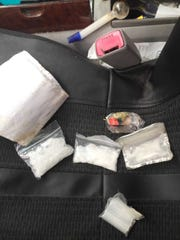 Detectives found methamphetamine packaged for sale during a search Wednesday of a Thousand Oaks man's vehicle.