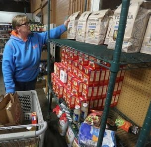 Stock the Shelves: Unemployment lines are shorter. But Wausau food lines are longer.
