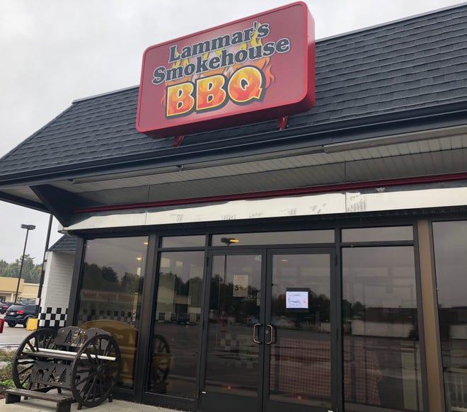 Lammar's Smokehouse BBQ closed October 4
