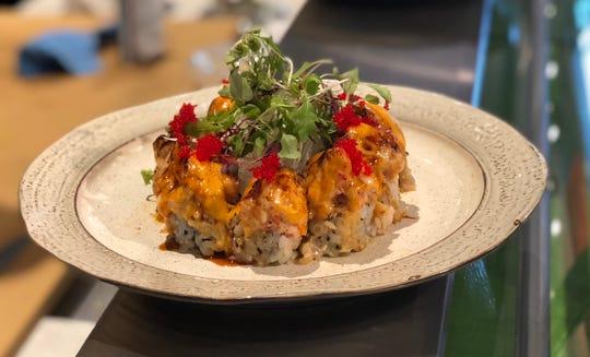 Sashimi dish from 19 Court in White Plains.