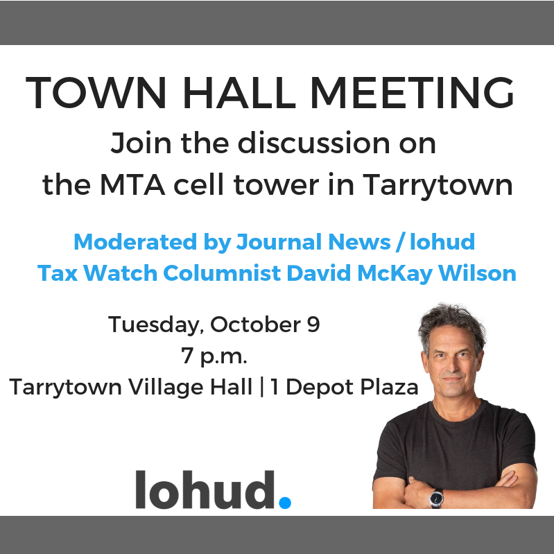 Tax Watch hosts Town Hall meeting on Tarrytown MTA cell tower by the playground