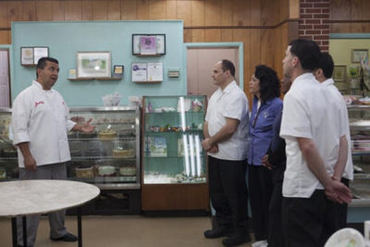 """Cake Boss"" Buddy Valastro came to Bing's Bakery in Newark in 2013 to aid the struggling business."