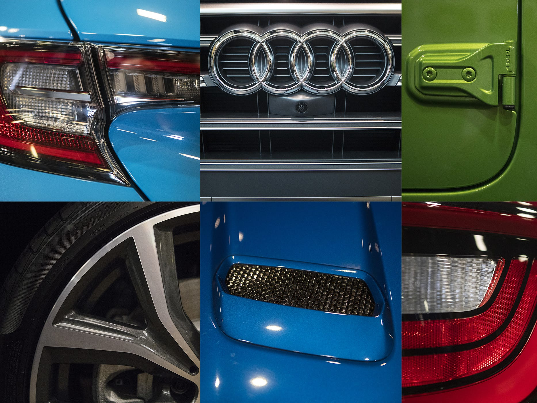 The colors and curves of automobiles at the 2018 Delaware Auto Show Oct. 5-7 at the Chase Center.