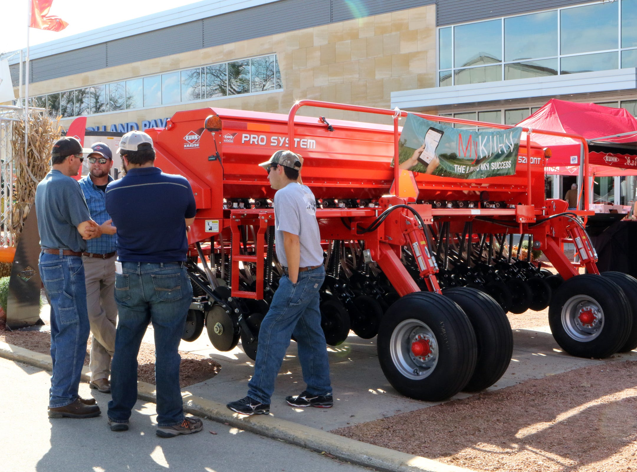 There is plenty of new equipment to see at World Dairy Expo.