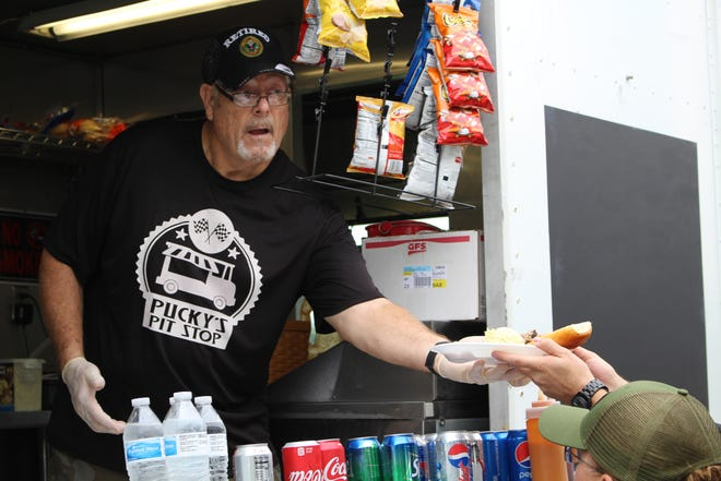 John Harper knew when he started his business that he specifically wanted a food truck. Now he travels to different events in the county.