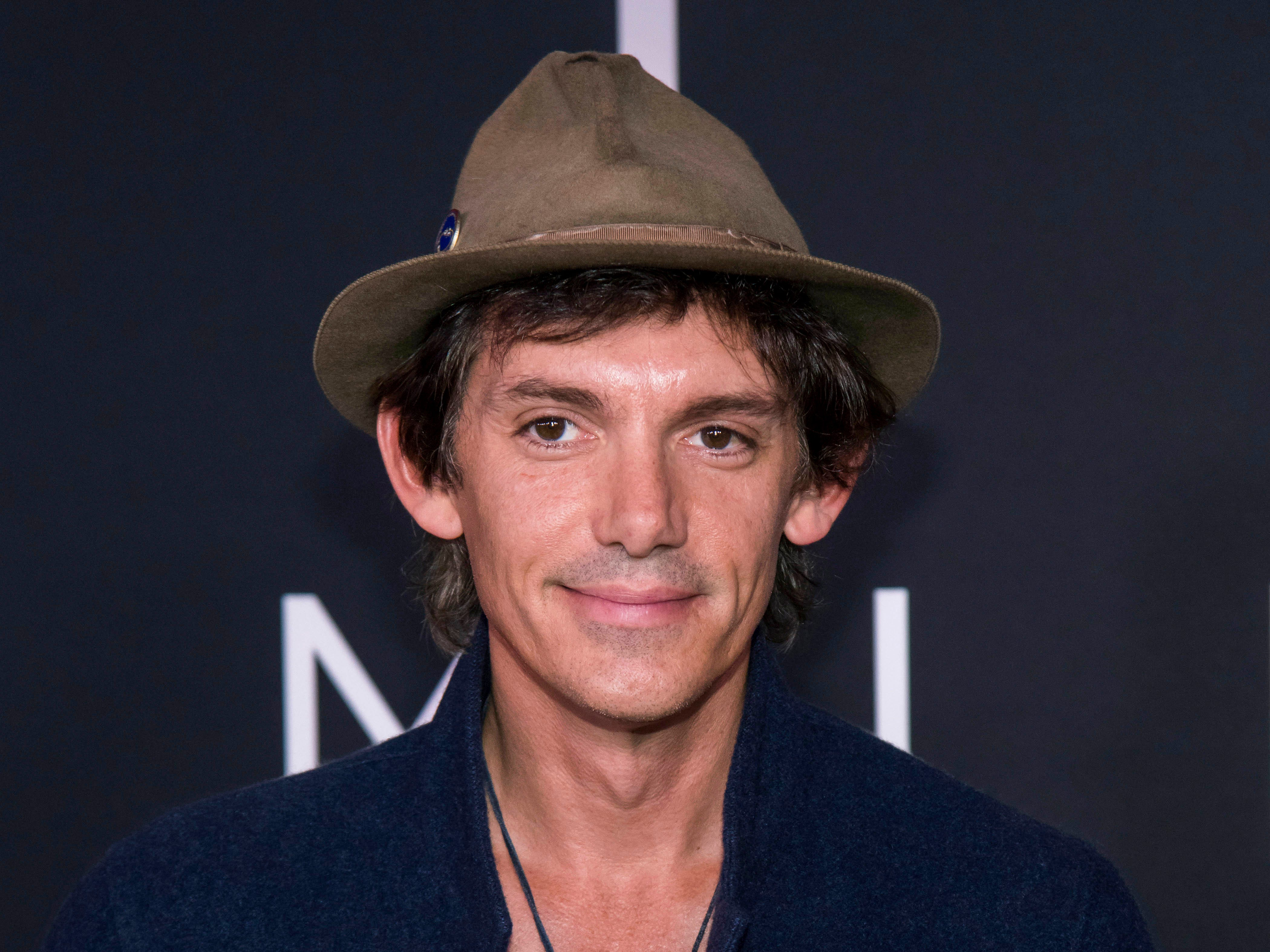 """Lukas Haas attends the """"First Man"""" premiere at the National Air and Space Museum of the Smithsonian Institution on Thursday, Oct.  4, 2018, in Washington. (Photo by Charles Sykes/Invision/AP) ORG XMIT: NYCS103"""