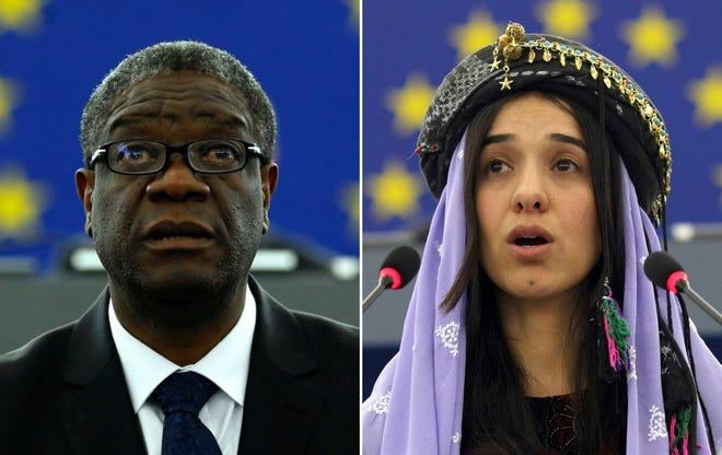 Denis Mukwege, Nadia Murad win 2018 Nobel Peace Priz.