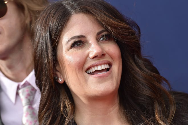Monica Lewinsky at the 2018 Creative Arts Emmy Awards on Sept. 8, 2018 in Los Angeles.
