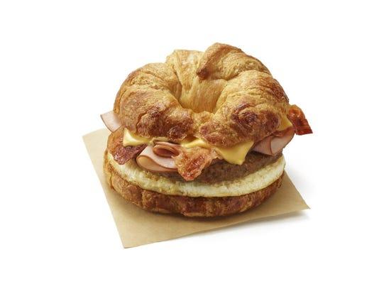 All You Can Meat Breakfast Sandwich