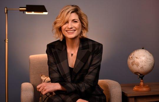 Jodie Whittaker visits USA TODAY's New York Bureau.