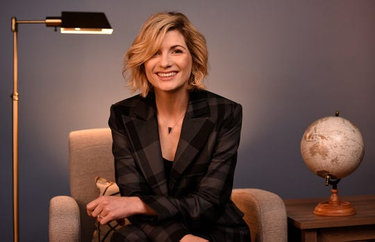 Jodie Whittaker visits USA TODAY's New York Bureau.