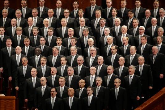 Ap Mormon Tabernacle Choir Name Change A File Usa Ut