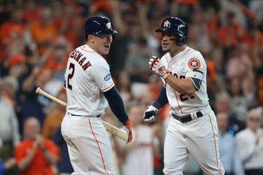 Mlb Alds Cleveland Indians At Houston Astros