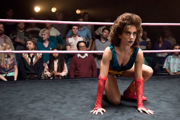 Alison Brie as Ruth in 'GLOW.'