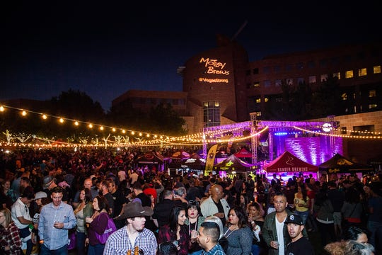 The Downtown Brew Festival in Las Vegas.