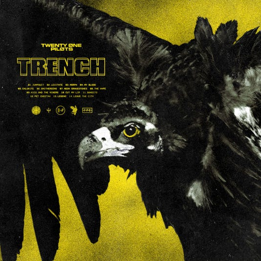 Review: Twenty One Pilots score again with another genre-bending album, 'Trench'
