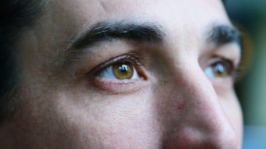 Closeup Portrait Of Mid Adult Man