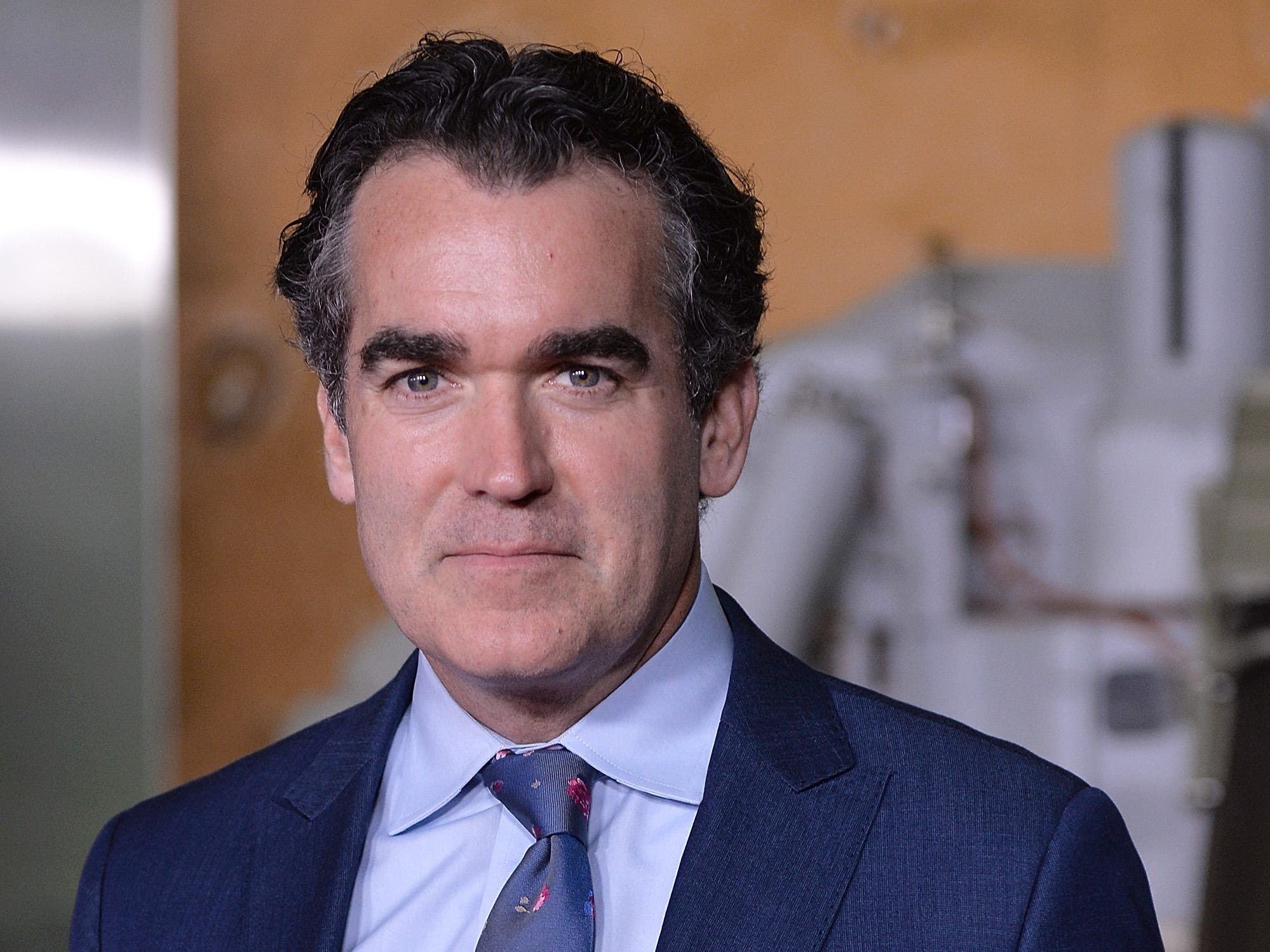 """WASHINGTON, DC - OCTOBER 04:  Actor Brian D'Arcy James attends the """"First Man"""" premiere at the National Air and Space Museum on October 4, 2018 in Washington, DC.  (Photo by Shannon Finney/Getty Images) ORG XMIT: 775234726 ORIG FILE ID: 1045739410"""