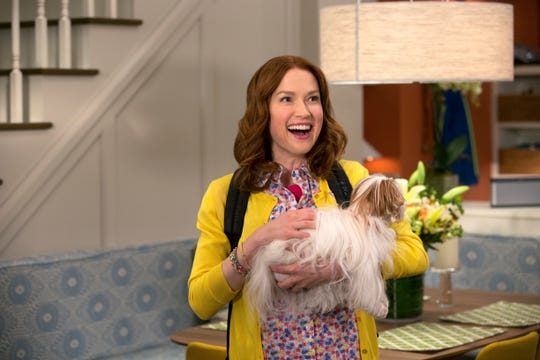"Ellie Kemper stars in the Netflix series ""Unbreakable Kimmy Schmidt."""