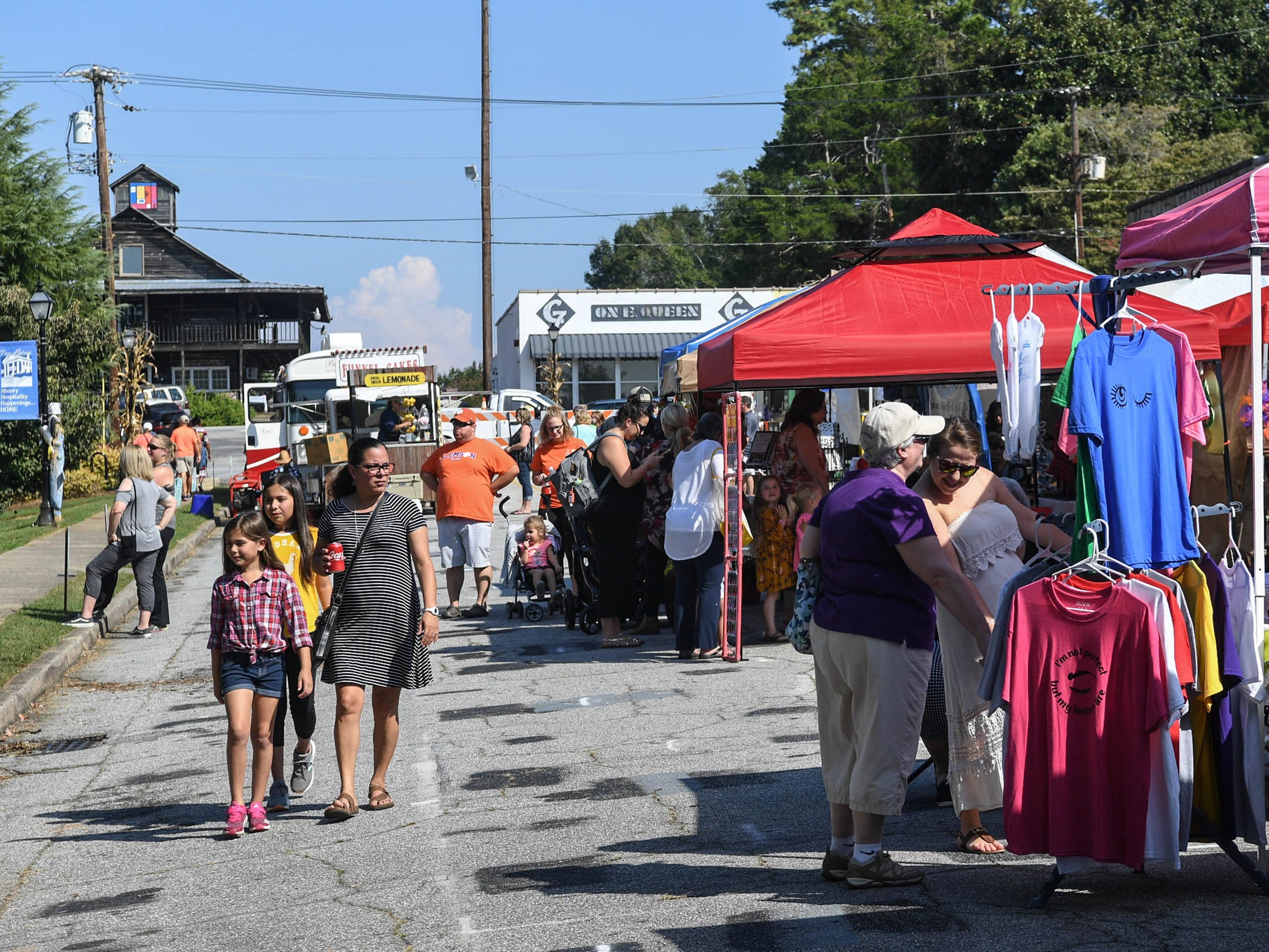 The 20th Pendleton Fall Harvest Festival in the town square on Saturday, October 5, 2018.