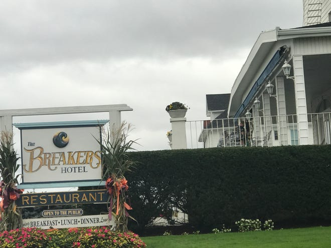 The Breakers on the Ocean hotel in Spring Lake was evacuated early Saturday morning due to smoke.
