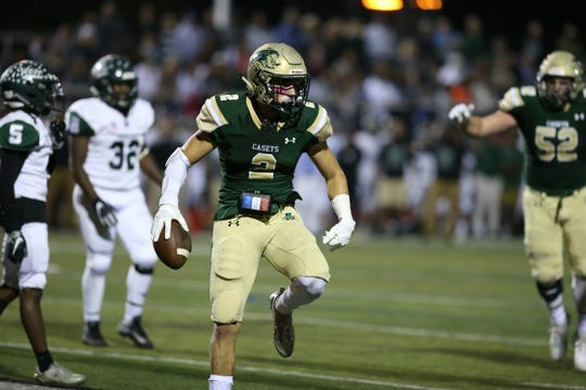 Second half of the Long Branch at Red Bank Catholic Red Zone Game of the Week at Count Basie Field in Red Bank, NJ Friday, October 5, 2018.