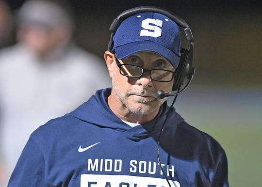 Middletown South Football takes on Toms River North on 10/5/2018