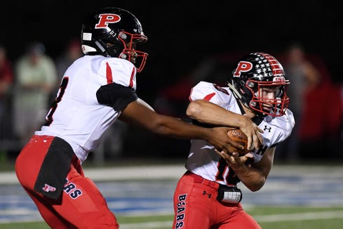 Pisgah's sophomore quarterback Korey Griffith had five total touchdowns in Friday's win over Hendersonville.