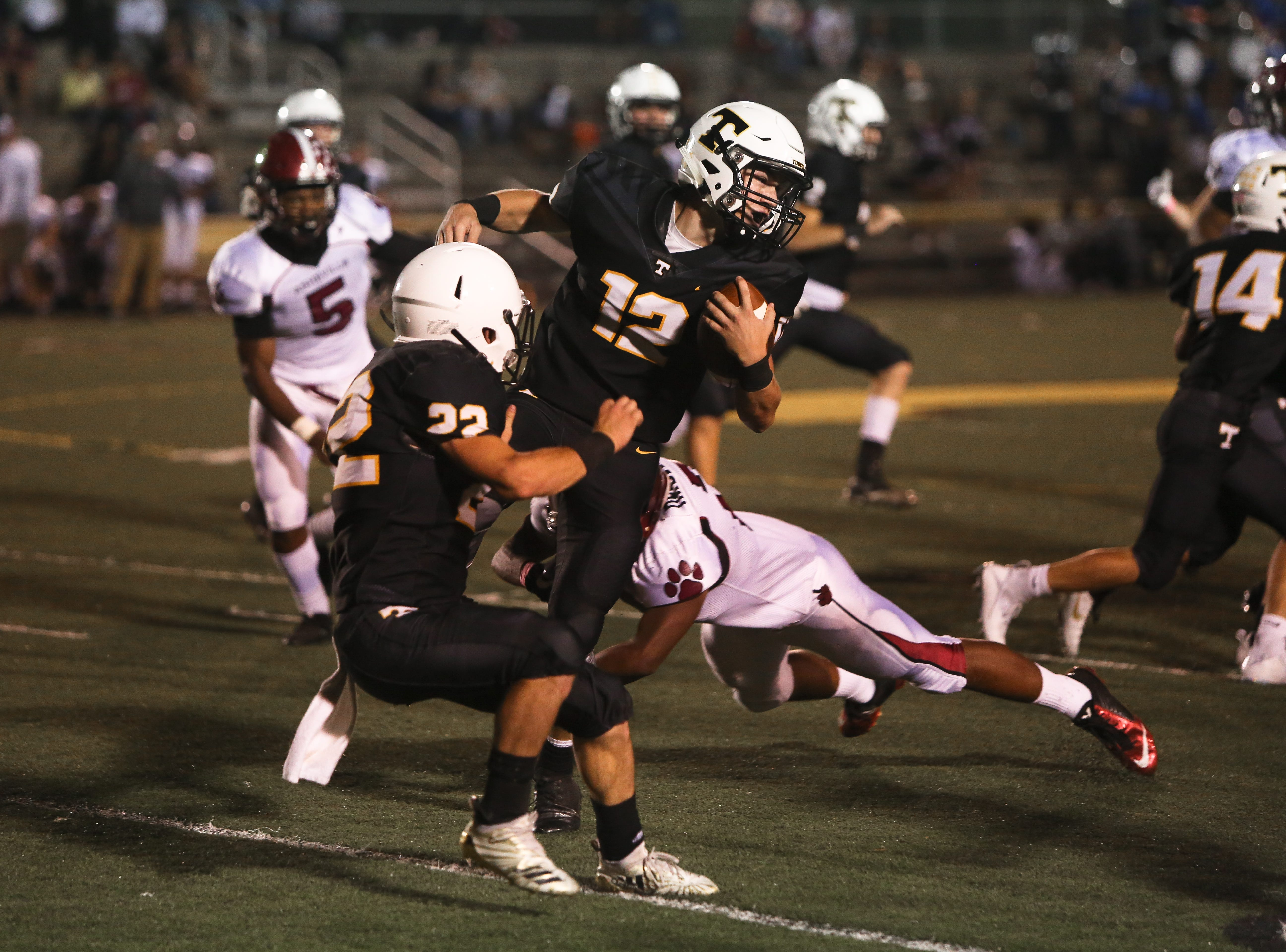 Asheville High defeated Tuscola 37-6 in a high school football game Oct. 5, 2018, at Tuscola.