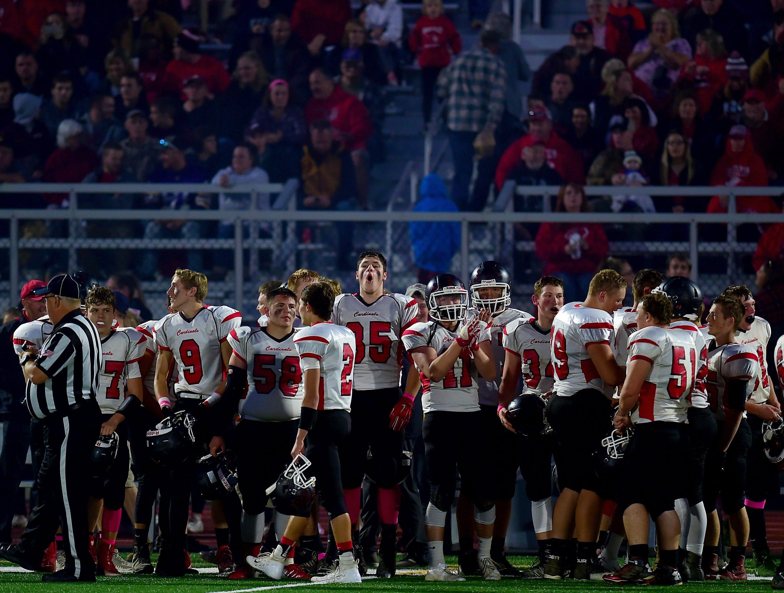 Newark Valley at Susquehanna Valley football, October 5, 2018.