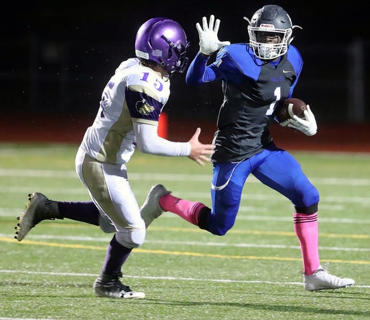 Olympic's Malcolm Dewalt and the Trojans are coming off a 34-27 win over Bremerton in Week 8.