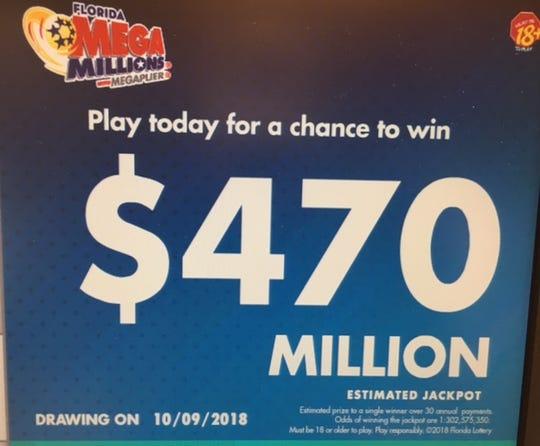 Mega Millions jackpot rises to more than half a billion dollars