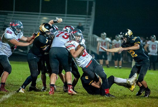 Jacob Heefner is one of the returners on both sides of the ball for the Bucks.