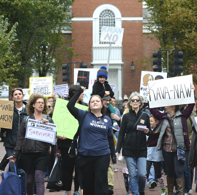 Kavanaugh sparks protests in Washington, Burlington