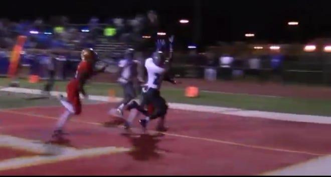Jacari Carter's winning TD catch