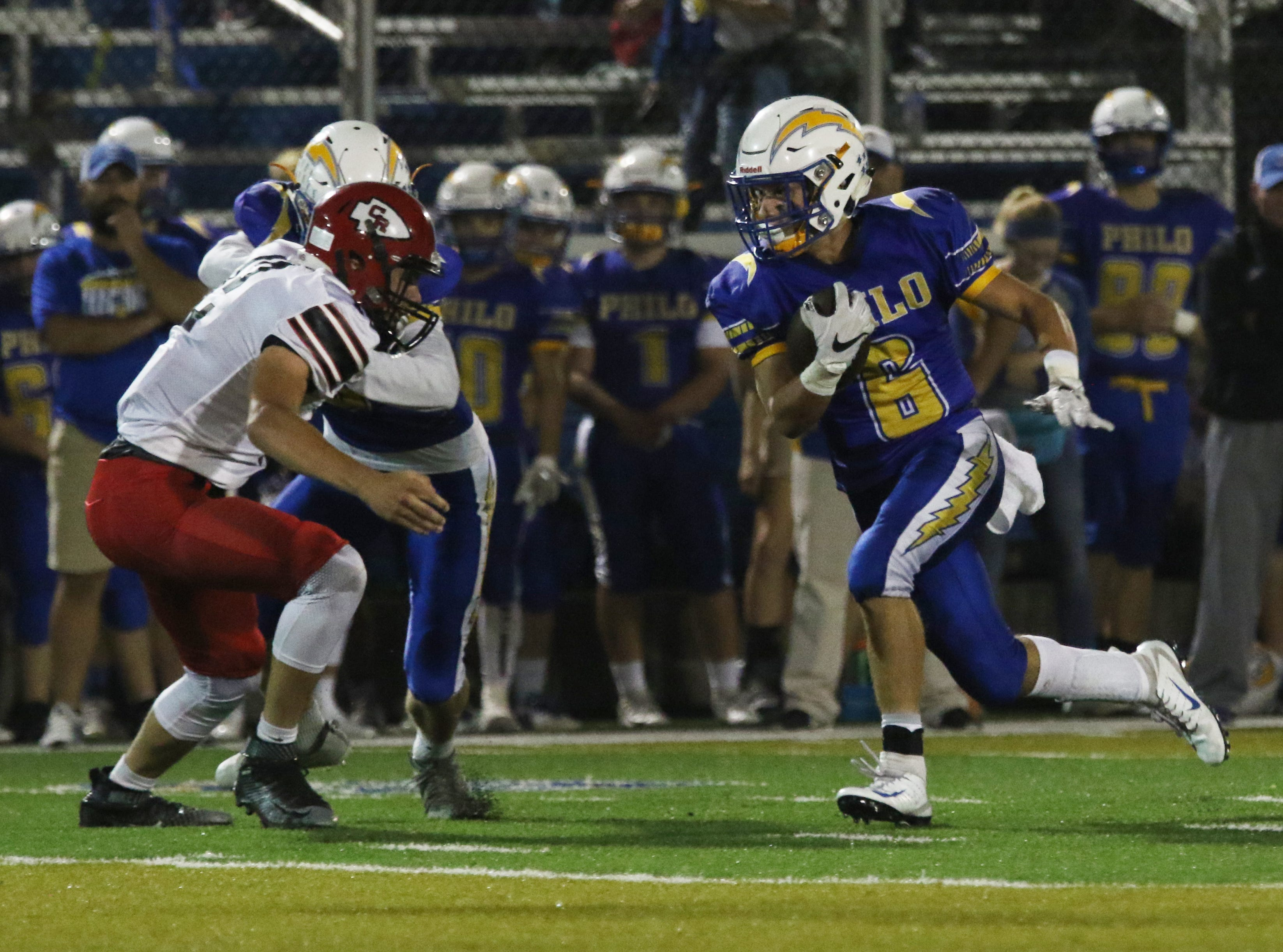 Philo beat visiting Coshocton 35-7 Friday night in Duncan Falls.