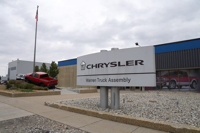 Paint shop workers at FCA's Warren Truck Assembly stopped working for a time over coronavirus concerns Monday. Paint shop work has resumed. The company said there are no confirmed cases of the virus at the plant.