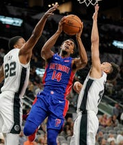 Ish Smith shoots Oct. 5.
