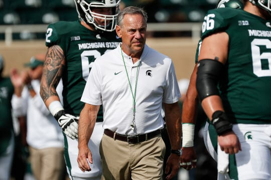 Mark Dantonio enters 2019 three wins away from becoming Michigan State's all-time winningest coach. He has 107 victories, second to Duffy Daugherty's 109.
