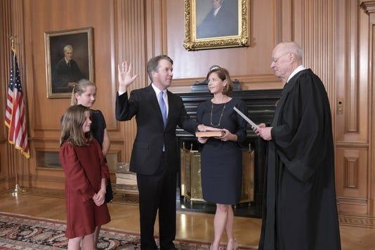 Us Justice Politics Kavanaugh