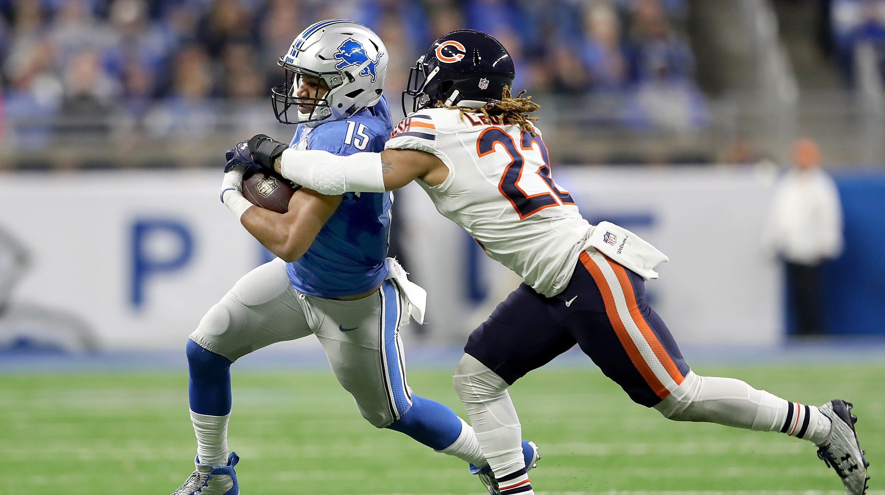 low cost 3abe8 106ab Lions sign Cre'Von LeBlanc off practice squad, waive Hakeem ...
