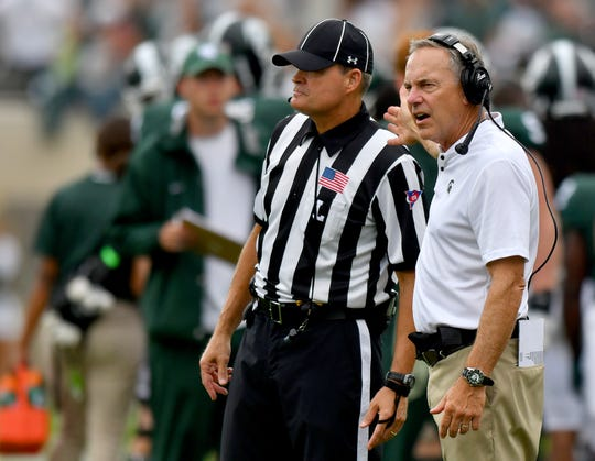 Mark Dantonio is frustrated by the results this season, but isn't planning big changes on offense.