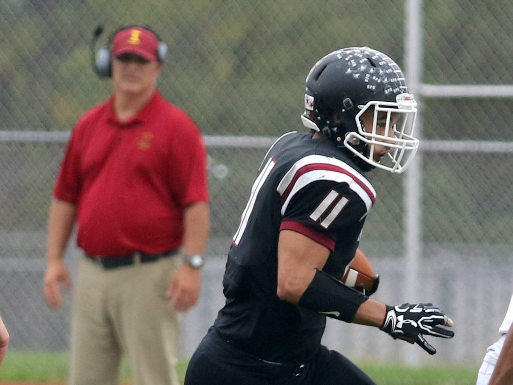 Elmira was a 64-7 winner over Ithaca in football Oct. 6, 2018 at Ernie Davis Academy in Elmira.