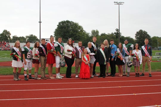 Members of the 2018 Homecoming Court at Oak Harbor  High School.