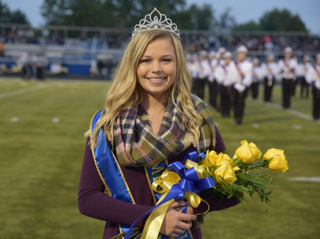 Jordan Roberts was crowned Homecoming Queen at Clyde High School on Friday.