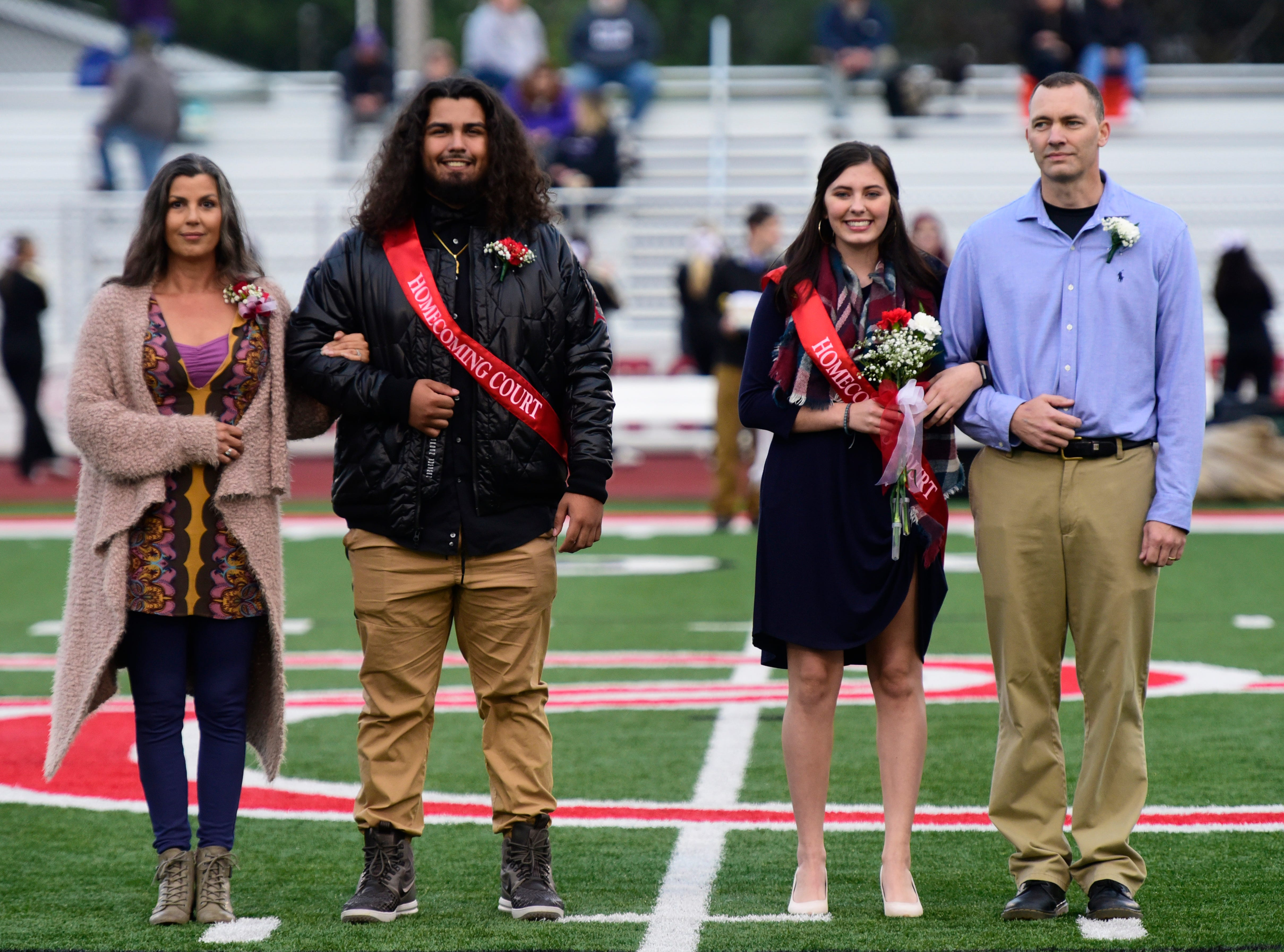 Port Clinton High School 2018 senior homecoming attendants Reece Taylor, left, and Bella Fillmore.